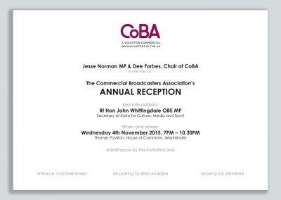 Simple Corporate Event Invitation