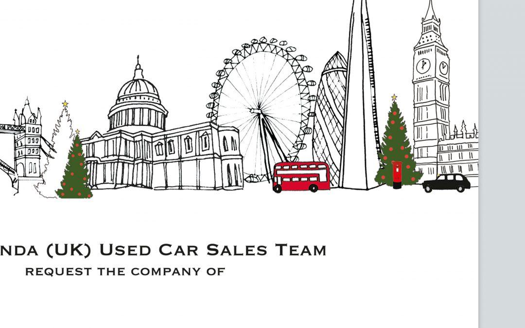 Corporate Christmas Event Invitation