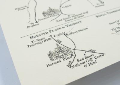 Wedding Venue and Ceremony Map