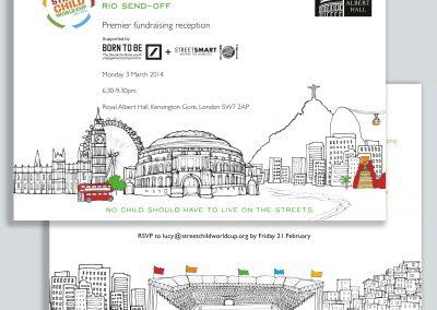 Street Child World Cup Invitation
